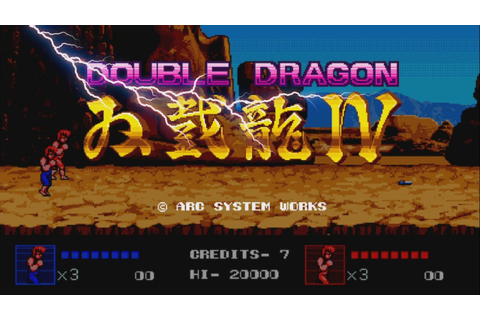 Double Dragon IV - Nintendo Switch Version Trailer - YouTube