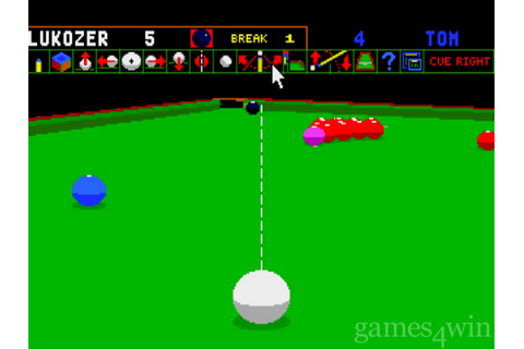 Jimmy White's 'Whirlwind' Snooker Download - Games4Win