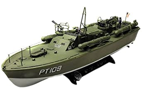 Amazon.com: Revell 1:72 PT-109 P T Boat: Toys & Games