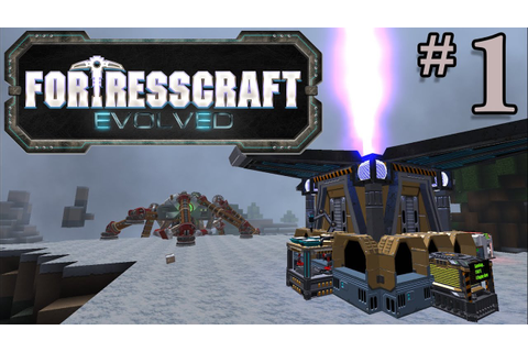 FortressCraft Evolved Gameplay - #1 - Automate Everything ...