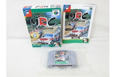 MRC Multi Racing Championship Nintendo 64 Japan Boxed Game ...