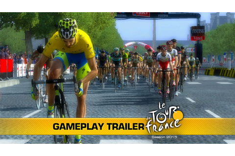 Tour de France 2015 on Consoles: Gameplay Trailer - YouTube