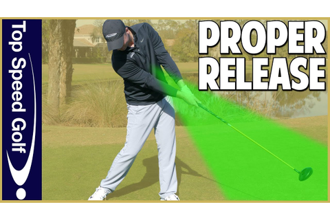 Proper Golf Swing Release - YouTube