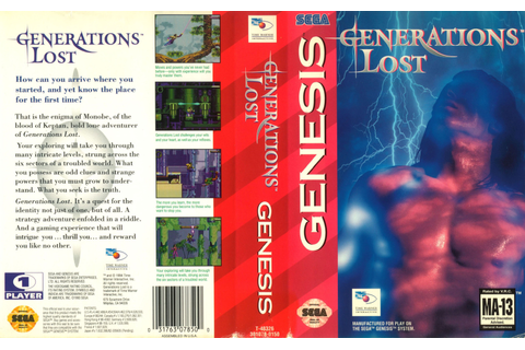 Sega Megadrive Genesis G Game Covers Box Scans Box Art CD ...