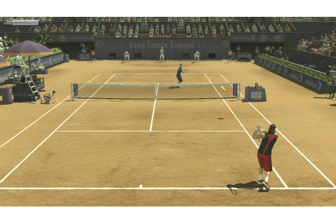 Test Smash Court Tennis 3