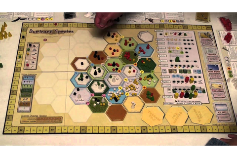 Dominant Species (Boardgame) Timelapse - YouTube