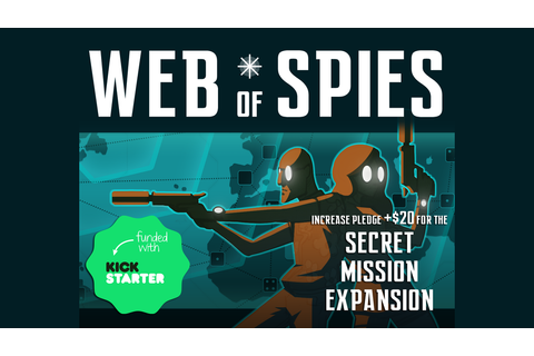 WEB OF SPIES: A Secret Agent Board Game by Cole Medeiros ...