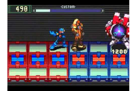 Mega Man Battle Network 2 - Boss Run (No Damage) - YouTube