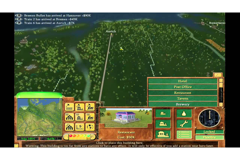 Railroad Tycoon 3 - Germany - YouTube