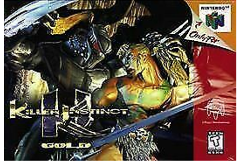 Killer Instinct Gold (Nintendo 64, 1997) | eBay