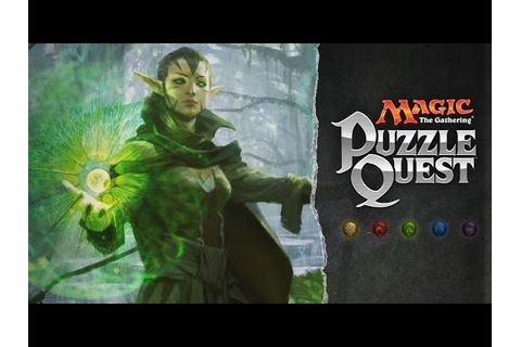 MAGIC THE GATHERING PUZZLE QUEST Gameplay - YouTube