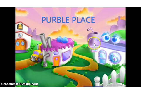 Purble Place game (i think its a acer game) - YouTube