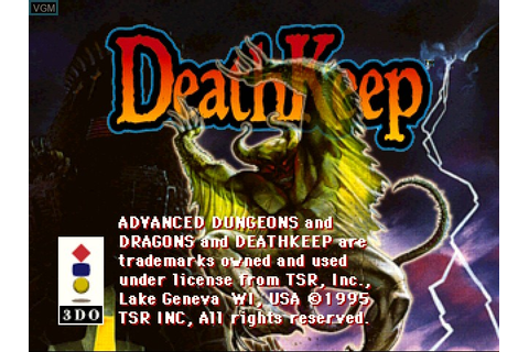 DeathKeep for 3DO - The Video Games Museum