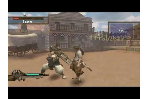 Samurai Western (PS2) - 1st Boss - YouTube