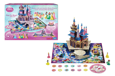 Disney Princess Pop-Up Magic Board Game on Behance