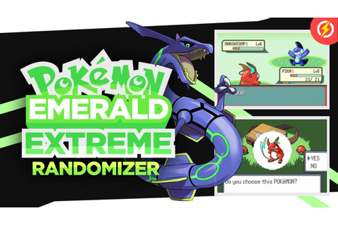 Pokemon Emerald Extreme Randomizer GBA Rom (With Download ...