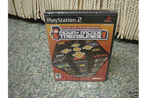 Midway Arcade Treasures (PlayStation 2) NEW 31719269136 | eBay