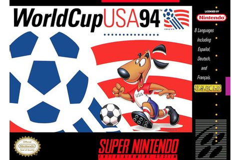 World Cup USA 94 - Super Nintendo (SNES) - Video Games