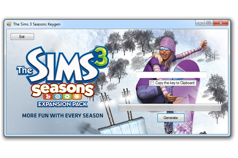 the sims 3 seasons pc game complete crack keygen serial