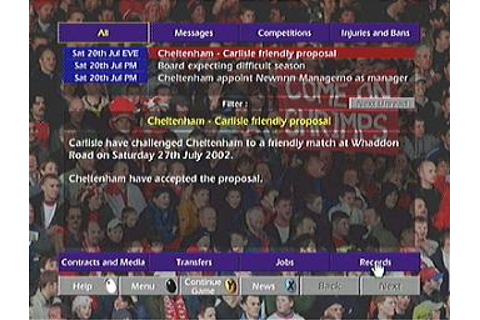 Screens: Championship Manager Season 02/03 - Xbox (2 of 15)