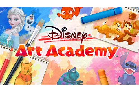 Disney Art Academy - Drawing With Abdallah! [Nintendo 3DS ...