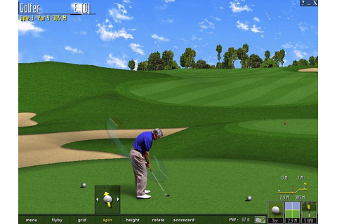 Скриншоты Microsoft Golf 1998 Edition на Old-Games.RU