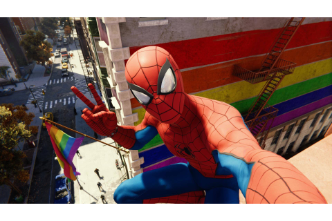 LGBTQ Gamers Are Loving Marvel's Spider-Man On PS4