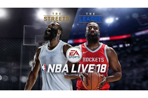 NBA Live 18 Cover Athlete James Harden - 2016/17 ...
