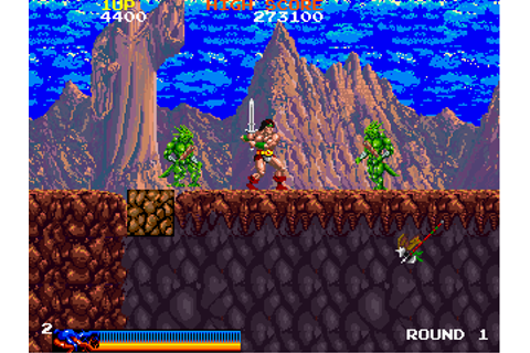 Rastan - Videogame by Taito