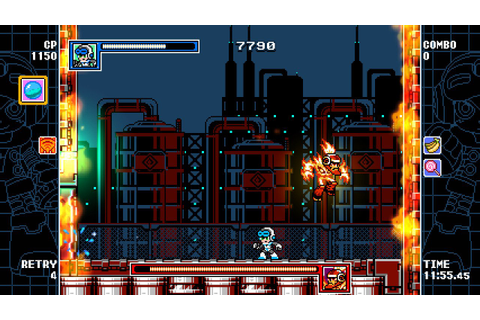 Gaming Sweet Gaming: [REVIEW] Mighty Gunvolt Burst (Switch)