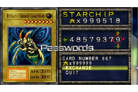 Forbidden Memories Passwords | YuGiOh! World