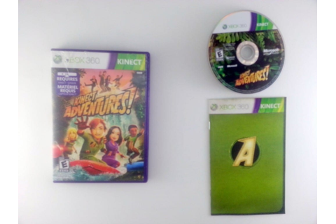 Kinect Adventures game for Microsoft Xbox 360 -Complete | eBay