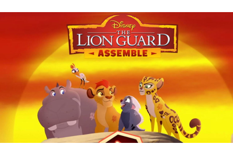 Disney The Lion King Lions Guard Game Episode 2 - YouTube