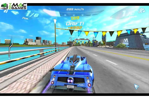 Asphalt 6 Adrenaline MAC Game Free Download
