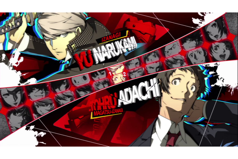 Persona 4 Arena Ultimax All Characters (Including DLC ...