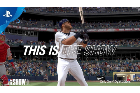 MLB The Show 19 - Gameplay Trailer | PS4 - YouTube