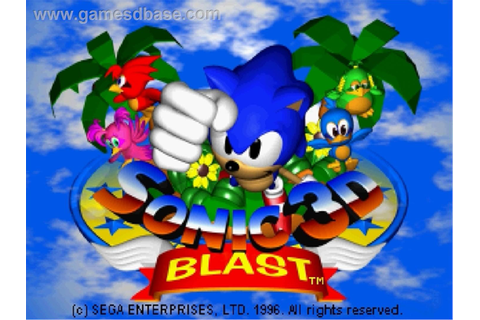 Video Game Review: Sonic 3D Blast