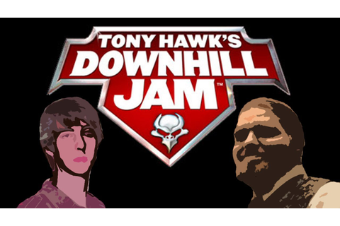 Tony Hawk Downhill Jam - SKATING GAMES ARE THUH BEST - YouTube