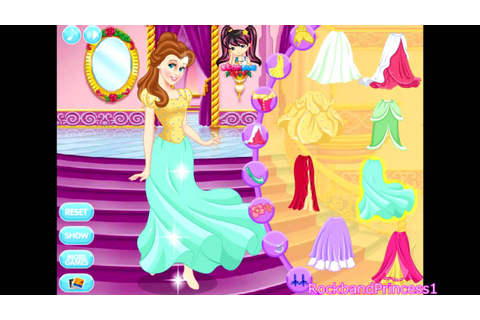 Disney Princess Games For Little Girls - YouTube