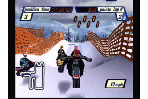 Sled Storm (PS1) Gameplay - YouTube
