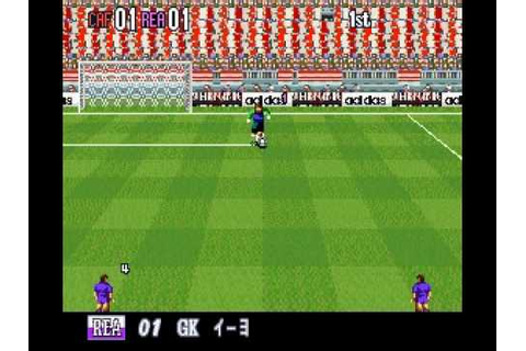 SNES Super Formation Soccer 96: World Club Edition - YouTube