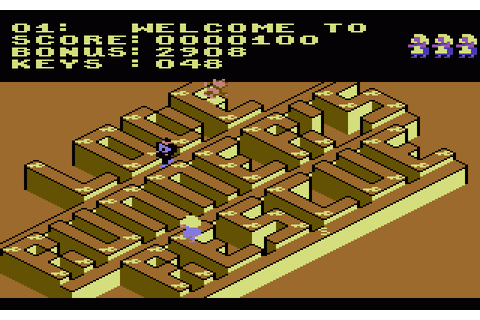 Lode Runner's Rescue (1985) by Synapse Software C64 game