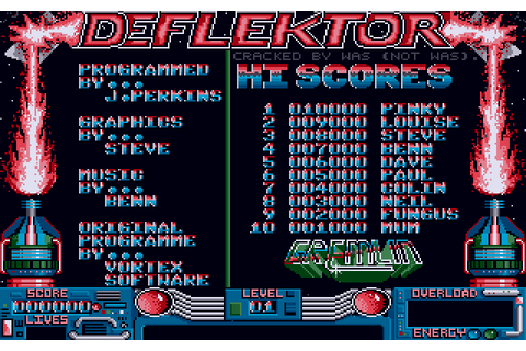 Deflektor (1988) by Gremlin Graphics Atari ST game
