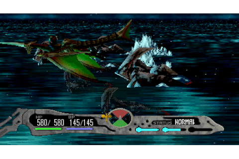 Panzer Dragoon Saga (1998, Sega Saturn) - GameTripper review