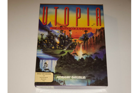 Utopia The Creation of a Nation (Amiga, 1991) Rare ...