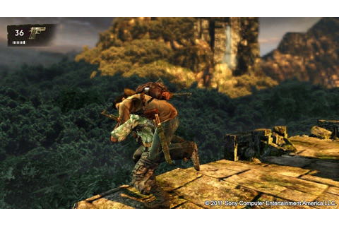 Uncharted: Golden Abyss Screenshots for PS Vita - MobyGames