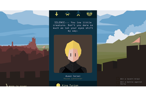 Reigns: Game of Thrones coming this October for iOS ...