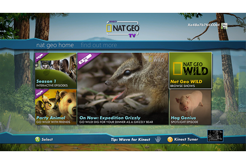 Kinect Nat Geo TV on Xbox Live | Set up the Kinect Nat Geo ...