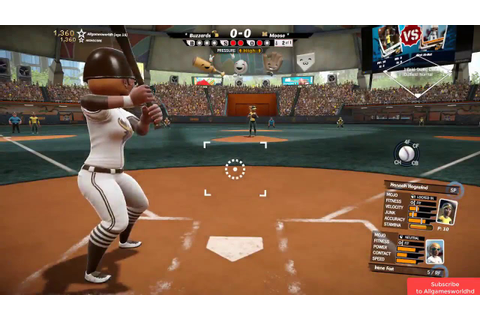 Super Mega Baseball 2 Gameplay (PC game). - YouTube