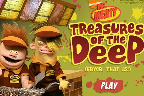 Mr Meaty Treasures Of The Deep Game - Cartoon games ...